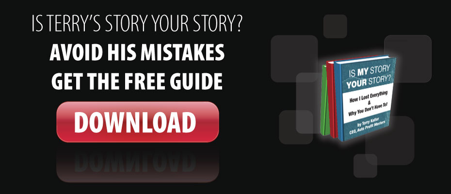 Is Terry\'s story like your story? Avoid Terry\'s mistakes. Get his free guide!