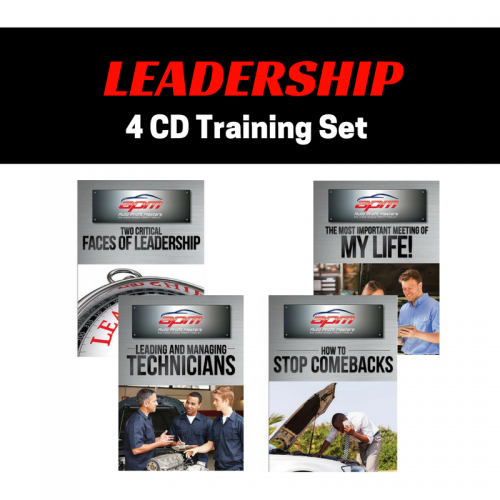 Leadership 4 CD set Auto Profit Masters Shop Owner Service Advisor Training