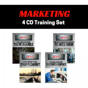Marketing 4 CD set Auto Profit Masters Shop Owner Service Advisor Training