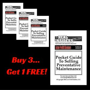Pocket Guide to Selling Preventative Maintenance Bundle - Auto Profit Masters Shop Owner Book