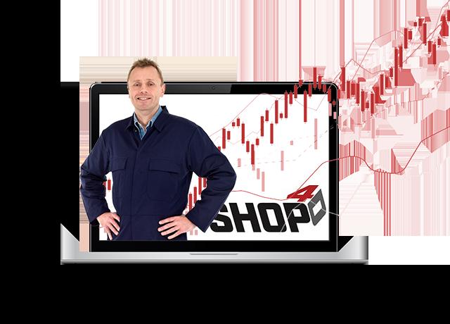 Live shop management demo