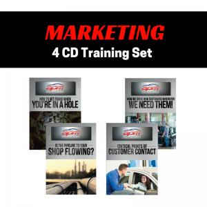Marketing 4 CD set Auto Profit Masters Shop Owner Service Advisor Training