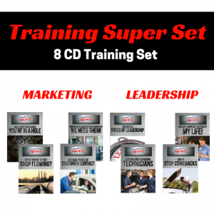 Marketing and Leadership 8 CD Super Set Auto Profit Masters Shop Owner Training
