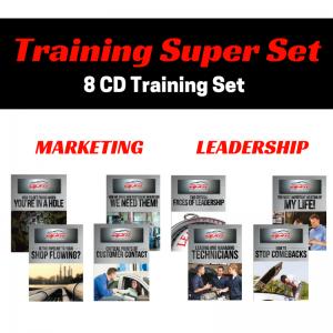 Marketing and Leadership 8 CD Super Set Auto Profit Masters Shop Owner Training