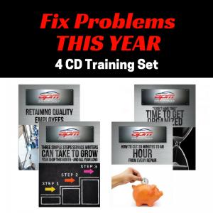Fix Problems This Year 4 CD set Auto Profit Masters Shop Owner Service Advisor Training